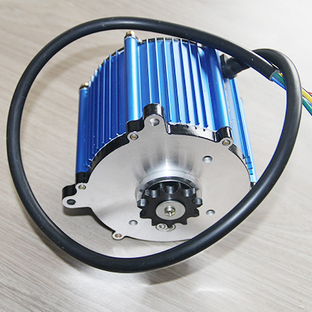 SL120-12-60 BLDC Motor -Mid driving motor for E Mountain Bike