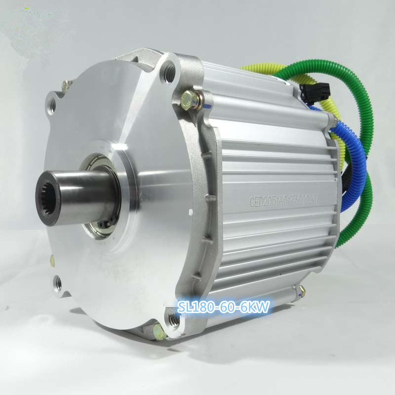 Mid driving motor on developing